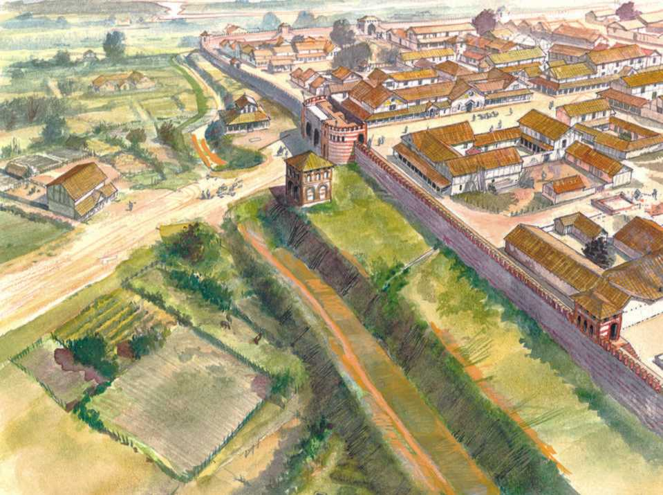 The Trust S Own 3 D Reconstructions Of Roman Colchester